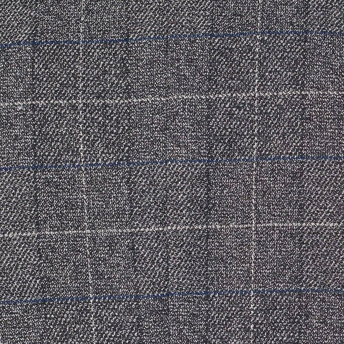 Marc Darcy Scott Multi Tonal Check Tweed Blazer - Grey