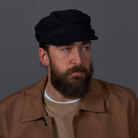 Melton Mariner Hat - Black