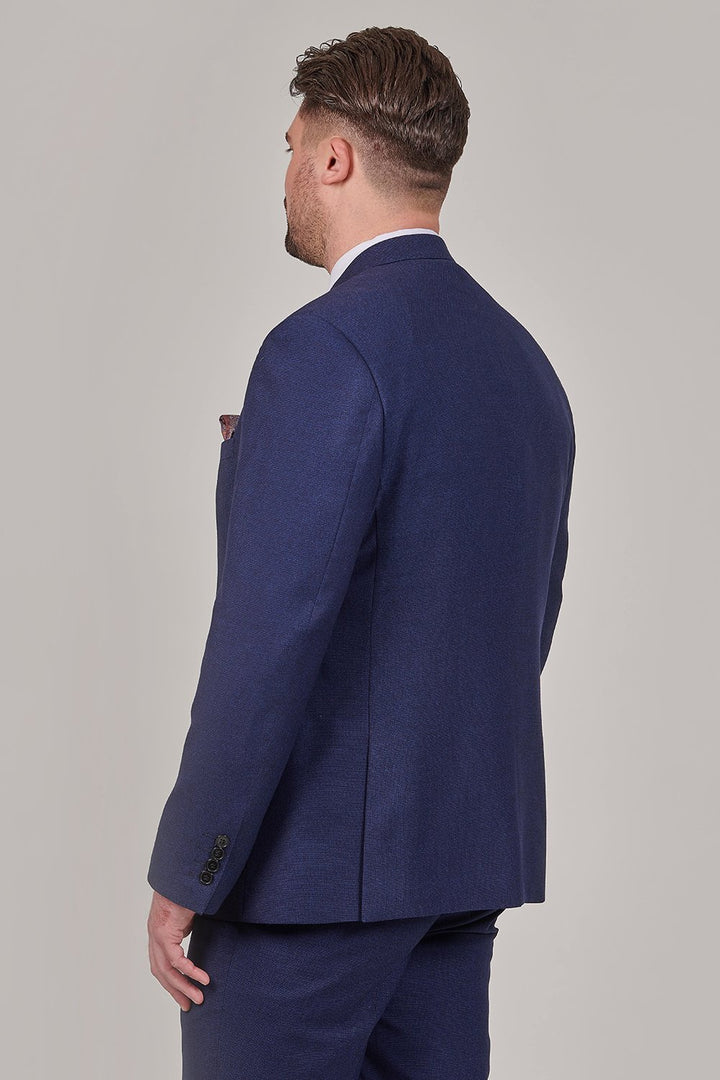 Skopes Harcourt Navy Tailored Fit 3 Piece Suit skopes-harcourt-tailored-fit-navy-blazer / skopes-harcourt-scoop-navy-waistcoat / skopes-harcourt-navy-waistcoat