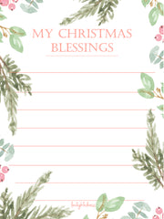 My Christmas Blessings - Berries