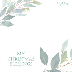 The Blessings of Christmas - Square