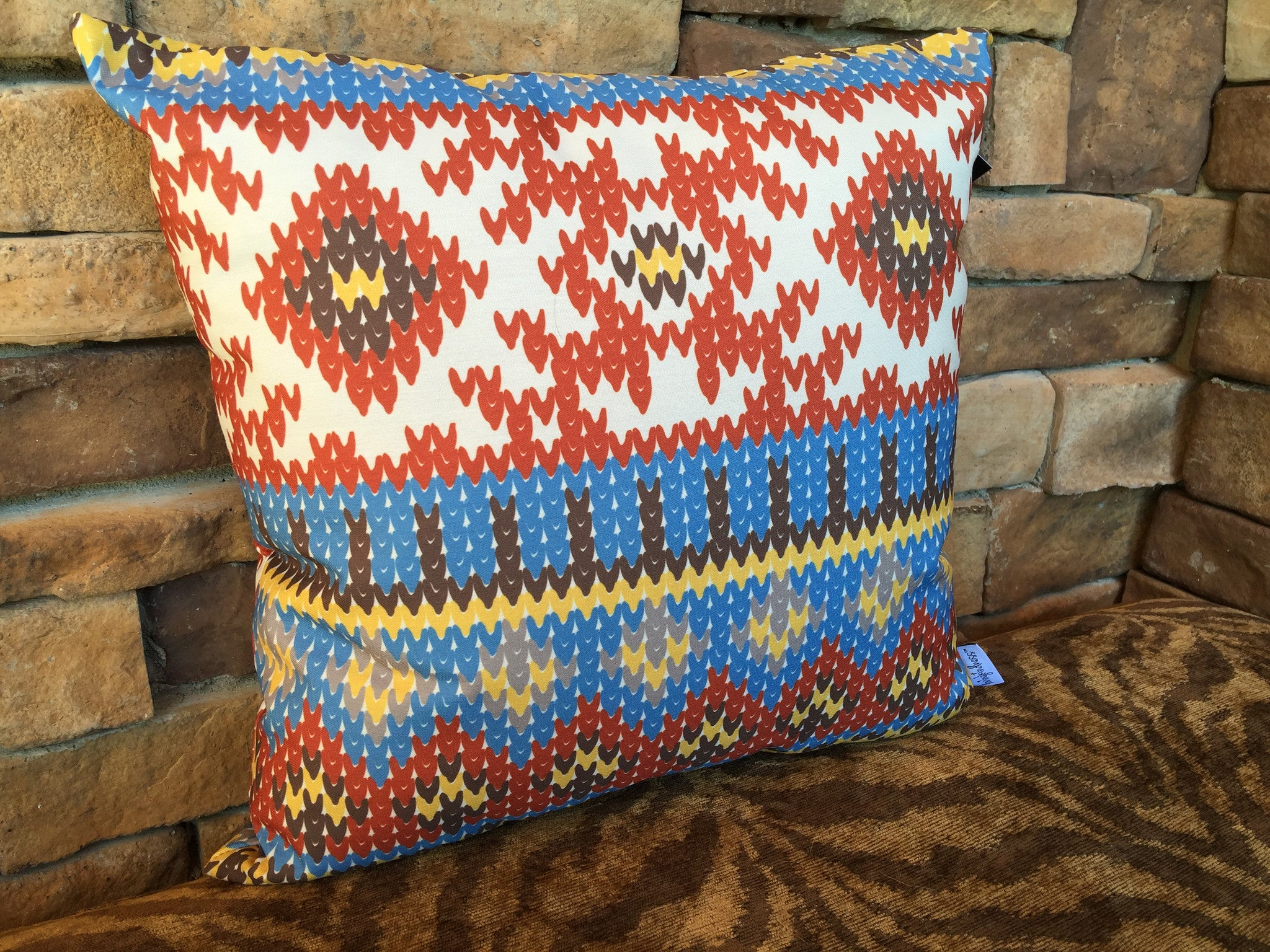 decorative pin pillow pillows decor boho vintage fabric kilim style moroccan cover cushion