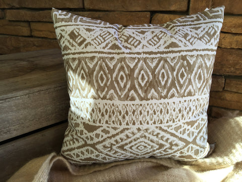Aztec Links Pillow