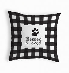 Blessed & Loved Pillow