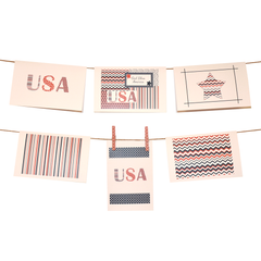 Americana Collection Stationery Set of 6 - lovingkindness - 1
