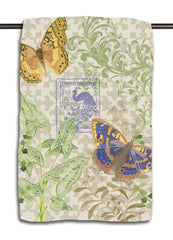 Fern & Butterflies Towel