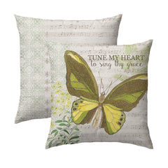 Tune My Heart Pillow