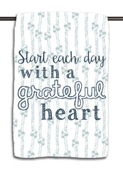 Grateful Heart Knots Towel
