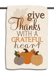 Grateful Heart Speckle Towel