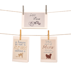 I Love My Pets Stationery Set of 6 - Cats - lovingkindness