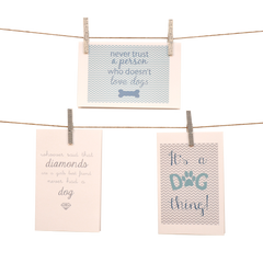 I Love My Pets Stationery Set of 6 - Dogs - lovingkindness