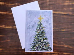 Winter Bliss Cards- Set of 4 note cards - 5-1/2 x 8-1/2 - Envelopes Included