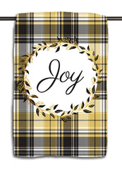 Joy Elegant Wreath Towel
