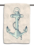 Lake Anchor Nautical Towel