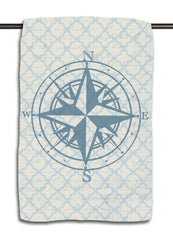 Lake Compass Lake Locks Towel