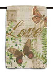 Love Butterflies & Fern Towel