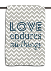 Love Endures Towel