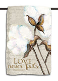 Love Never Fails Towel