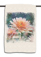 Micah 6.8 Flower Towel