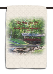 Psalm 103.5 Bridge Towel