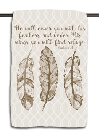 Psalm 91.4 Towel