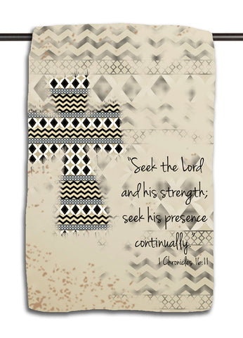 Seek the Lord Towel
