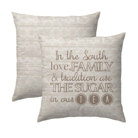 Love, Family, & Tradition Pillow