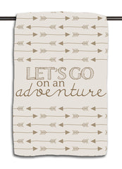 Let's Go on an Adventure - Arrow Towel