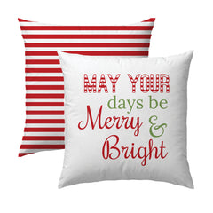 Merry & Bright R&G Pillow