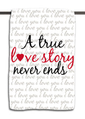 True Love Story Towel