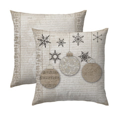 Vintage Ornaments Pillow