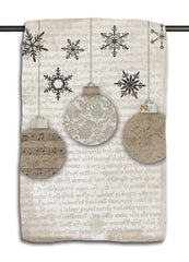 Vintage Ornaments Towel