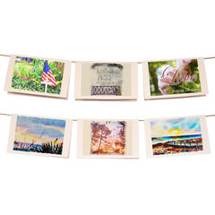 Watercolor Photography Collection Stationery Set of 6 - lovingkindness - 1
