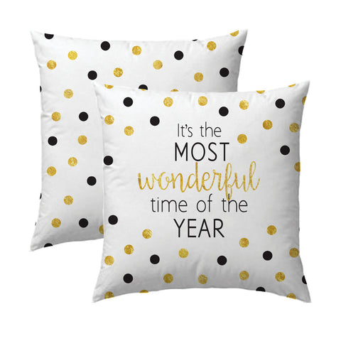 Wonderful Time of Year B&G Pillow