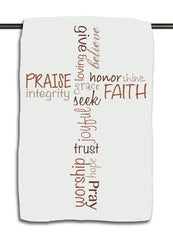 Words of Faith Towel