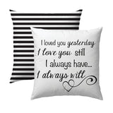 I Loved You Yesterday Pillow