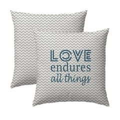 Love Endures Pillow