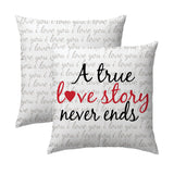 True Love Story Pillow