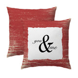You & Me Pillow