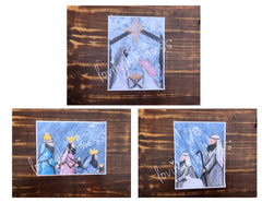 Nativity Scene Story Set - Set of 6 note cards - 5-1/2 x 8-1/2 - Envelopes Included
