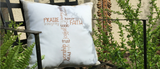Words of Faith Pillow