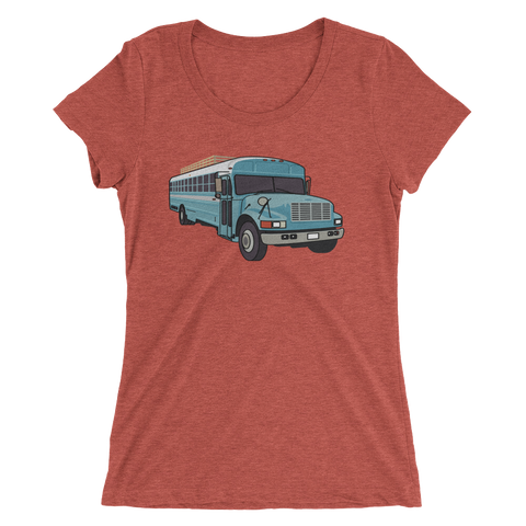 The Skoolie Love Bus - Ladies' Tee
