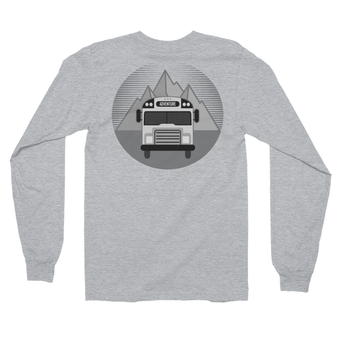 ADVENTURE Bus - To the Mountains! (Back Design)