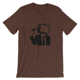 The End of Television - Unisex Short Sleeve Shirt
