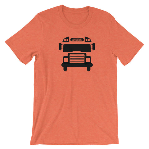 Adventure Bus Outline - Unisex Shirt