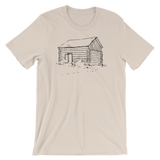 Log Cabin Unisex T-Shirt