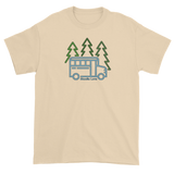 Forest Skoolie Bus - 100% Cotton