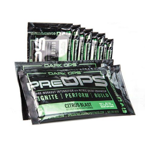 PreOPS Field Operations Pack (Ten 1.5 Serving Pouches)