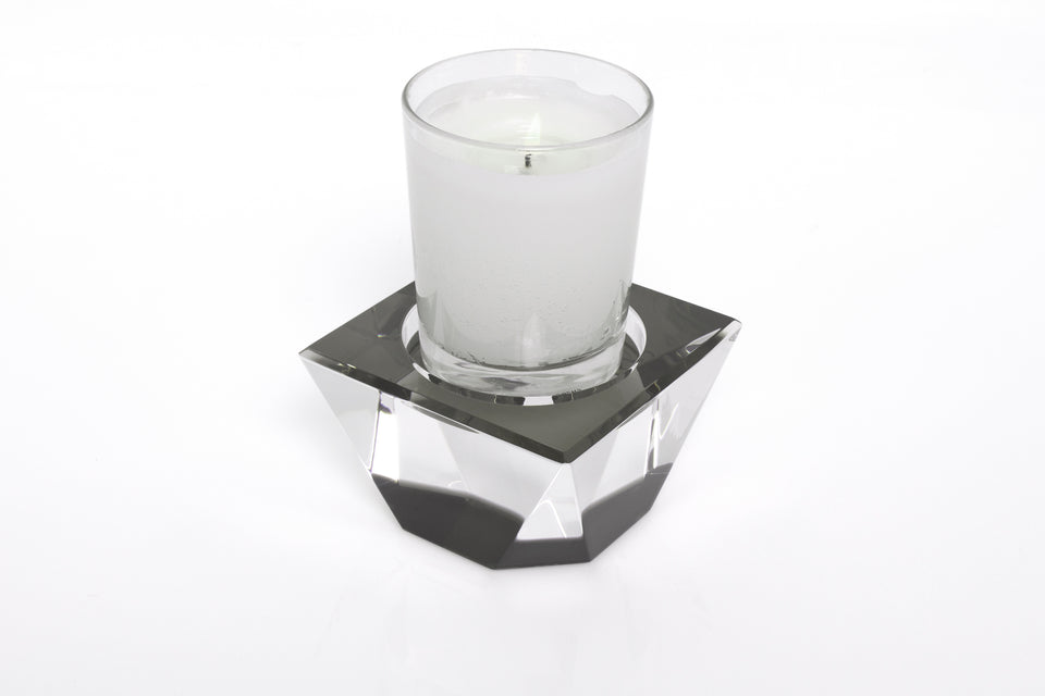 Candle Pedestal in Slate Grey