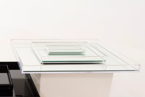 V105 | Vanity Mirror Tray, Clear